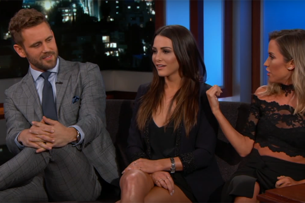 WATCH: 'Bachelor' Star Nick Viall Sits Down with Exes Andi Dorfman and Kaitlyn Bristowe for a Super Awkward Interview