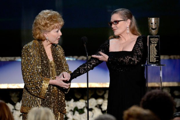 Debbie Reynolds Laid to Rest with Carrie Fisher's Ashes at Joint Funeral