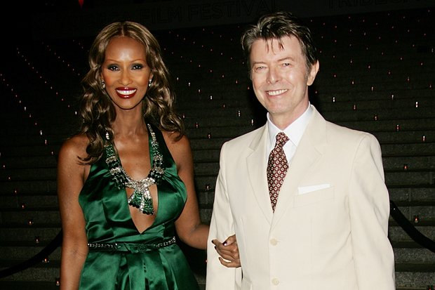 david bowie wife iman